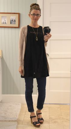 Love this dress/tunic to wear with leggings or jeans! Wish Forever 21 still had it in stock!
