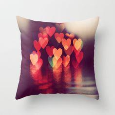 Love LIGHTS Throw Pillow by Marianne LoMonaco - $20.00