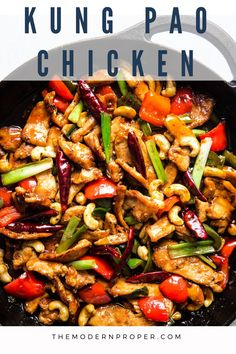 Kung Pao Chicken by The Modern Proper || Everyone's favorite Chinese restaurant staple Kung Pao Chicken gets a home-cooked upgrade! Healthy Cooking, Cooking Recipes, Healthy Recipes, Easy Recipes, Cooking Tips, Cooking For Two, No Cook Meals, Food Dishes, Asian Recipes
