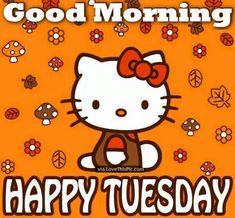 50 Cute Happy Tuesday Cartoon Quotes