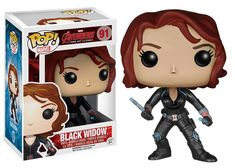 Funko Avengers Age of Ultron Black Widow Pop! Vinyl Bobble Head Figure Funko Avengers Age of Ultron Black Widow Pop! Funko Pop Marvel, Marvel Avengers 2, Black Widow Avengers, Marvel Cyclops, Avengers Symbols, Avengers Series, Marvel Series, Marvel Comics, Pop Figurine