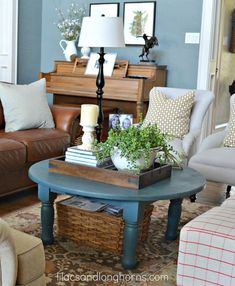 Coffee Table Ronde Ikea Styling Vignettes Decorating