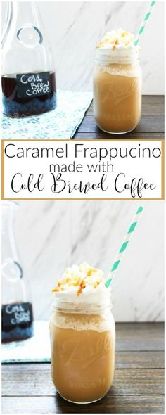 Caramel Frappucino with Cold Brewed Coffee | The Kolb Corner