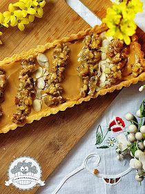 Ooomnomnomnom !: Wielkanocny mazurek kajmakowy z orzechami w miodzie Polish Food, New Recipes, Waffles, Cakes, Breakfast, Morning Coffee, Cake Makers, Kuchen, Waffle