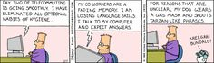 The Dilbert Strip for February 7, 1995