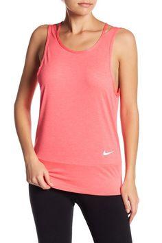 Image of Nike Mesh T-Back Athletic Tank