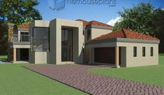 4 bedroom house plans in South Africa. Explore unique 4 bedroom house floor plans, 4 bedroom house plans with photos and double storey 4 bedroom house plans 6 Bedroom House Plans, Floor Plan 4 Bedroom, House Plans Mansion, Garage House Plans, House Floor Plans, Double Storey House Plans, Built In Braai, House Plans South Africa, House Plans With Photos