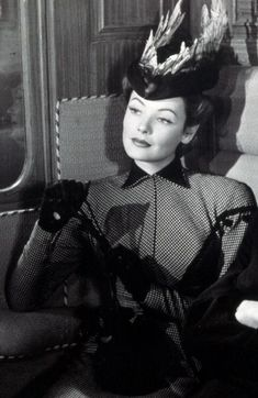 Gene Tierney ~ The Ghost and Mrs. Muir.   #silverscreenserendipity