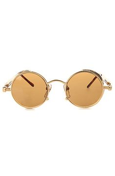 Replay Vintage Sunglasses  The 90's Steam Sunglasses in Gold $26