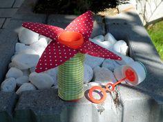 Pusteblume free - Kleckerschutz für Seifenblasendose