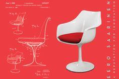 Eero Saarinen, Tulip Chair, 1960