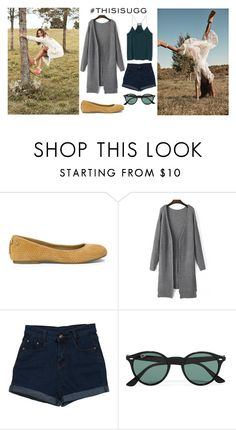 """Play With Prints In UGG: Contest Entry"" by selena-sok ❤ liked on Polyvore featuring UGG Australia, Ray-Ban and thisisugg"