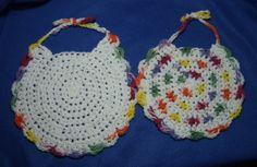 Crochet Baby Bibs Handmade