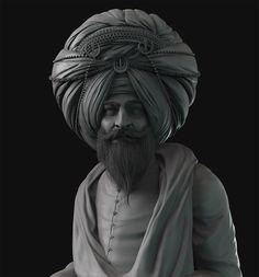 ArtStation - Sikh, Pablo Munoz Gomez