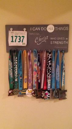 Check out this item in my Etsy shop https://www.etsy.com/listing/245593355/runners-race-bib-medal-holder-running