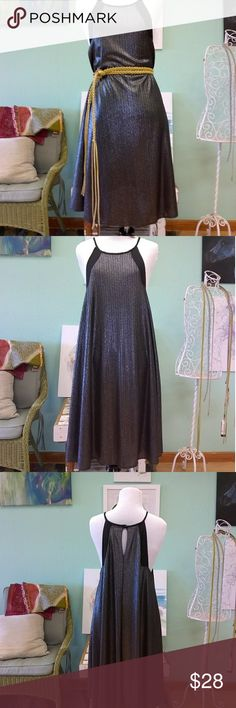 Cute Party Dress Never worn once, for some silly reason!  This little dress is made of beautiful semi metallic thread and hangs delicately around your collar bone and shoulders.  I'm 5'7, and it hits right at the top of my knee. Fits like a medium. Wildfox Dresses Mini