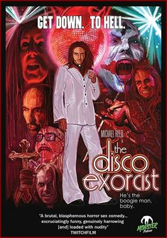 The Disco Exorcist Richard Griffin, 2011 Horror Movie Posters, Best Horror Movies, Cinema Posters, Scary Movies, Film Posters, Terror Movies, Exorcist Movie, The Boogie, Fete Halloween