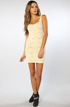 Free People The Seamless Medallion Sweetheart Slip in Turtle Dove : Karmaloop.com - Global Concrete Culture