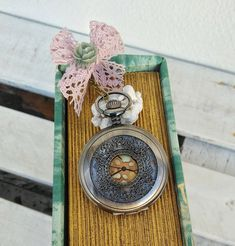 Vintage Style Pocket Watch Necklace, Victorian Style Clock Pendant, Steampunk Jewelry Gift For Her #BohemianSummerTales #pocketwatch #locketnecklace #steampunk #clocknecklace #