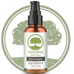 Eye Cream Age Defense for Dark Circles  #lifeessentialsskincare  Read more at: