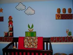 My son's Mario Nursery!