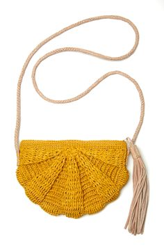 Mar Y Sol Zoe Clutch in Sunflower