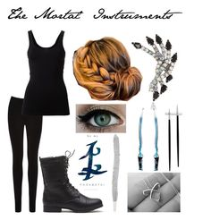 """""""Shadowhunter Outfit RD"""" by silverrise ❤ liked on Polyvore featuring Oasis, Theory, Elizabeth Cole and Cutipol"""