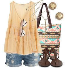 """Take It Easy"" by qtpiekelso on Polyvore"