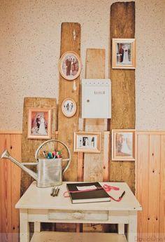 Decoração de casamento com fotos [Foto]