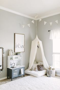 Comments JAYLA METTS says NOVEMBER 27, 2017 AT 5:46 PM This is the most precious Playroom Paint Colors, Colorful Playroom, Kid Playroom, Playroom Ideas, Organized Playroom, Gray Playroom, Playroom Signs, Montessori Playroom, Playroom Wall Decor