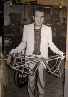Taglioni - father of the Ducati Desmo. He said it was a great idea, he was right. Stoner said it wasn't, failed then went to Honda.