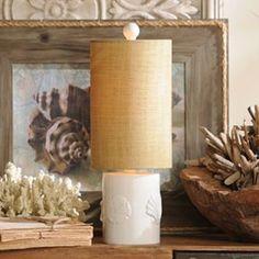 Coastal Cylinder Table Lamp | Kirkland's