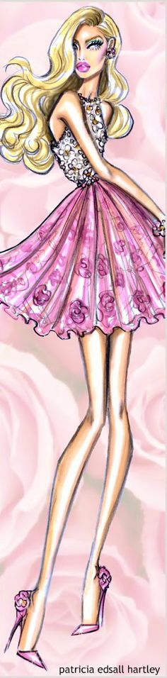 'Spring has Sprung' by Hayden Williams Fashion Illustration | House of Beccaria~