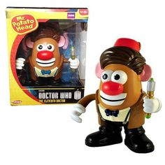 Doctor Who Eleventh Doctor Mr. Potato Head Figure