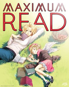 """Maximum Read poster by NaRae Lee based on James Patterson's """"Maximum Ride! Maximum Ride Manga, Maxium Ride, Gallagher Girls, James Patterson, Shadow Hunters, Book Characters, Book Nerd, Books To Read, Reading Books"""