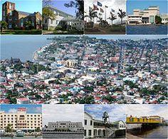 Ciudad de Belice - Wikipedia, la enciclopedia libre Belize City, Ann Arbor, Paris Skyline, Dolores Park, Tropical, Travel, Medicine, Costa Del Mar, Home Plans