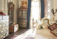 Детская комната в стиле русской дворянской усадьбы | http://www.babyroomblog.ru/
