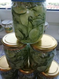 Food Hacks, Pickles, Cucumber, Food To Make, Healthy Living, Ketchup, Appetizers, Food And Drink, Cooking Recipes