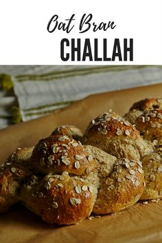 Try our Oat Bran Challah for a change this week, healthier and just as delicious