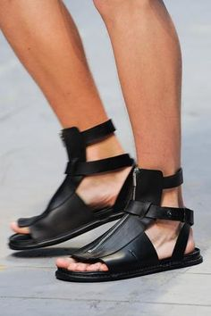 Las sandalias para galdiators.