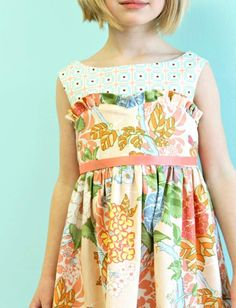 Sweet Peaches Sweetheart Easter Dress by LottieDaBaby on Etsy, This is a kids dress but I want one.