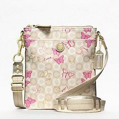 Coach Waverly Butterfly Crossbody. I've been wanting one for quite a while, and got it NWT for a lovely price.   :)