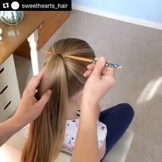 "155 Likes, 5 Comments - Kiddiegram (@kiddiegram) on Instagram: ""Can't get over some of these hairstyles! Here's one you can try out! Oh if only we could do this!…"""