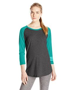 adidas Performance Women's 3-Stripes Raglan Tunic Shirt, ...  https://www.amazon.com/dp/B0117F3WYW/ref=cm_sw_r_pi_dp_x_cTopybJ9TH1K0 SIZE - Small?  Not sure if a medium will be too big?  Reading the reviews...