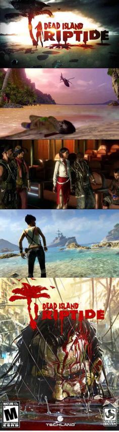 #ZombieGamer #DeadIsland Riptide, stuck on an island again, filled with zombies again. http://www.levelgamingground.com/dead-island-riptide-review.html