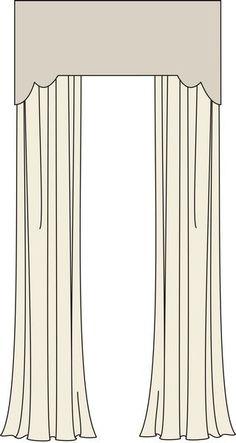 Scallop w/ Straight Center