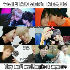 LMAO poor Kookie XD < i love kookie but i hate vkook so much XD Seokjin, Hoseok, Namjoon, Bts Maknae Line, Bts Memes Hilarious, Bts Lyric, Vmin, Cute Faces, Bts Taehyung