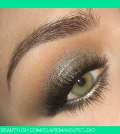 Fall 2013 Trend : Metallic smoke gunmetal makeup | Claire R.'s (clairemakeupstudio) Photo | Beautylish