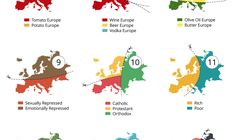 This Hilarious Map Shows 20 ways to Break Europe Apart