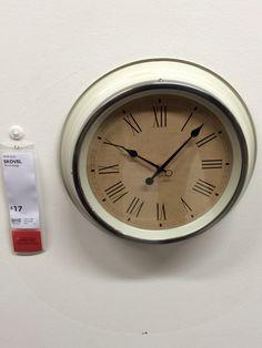 Ikea SKOVEL Clock 17 Living RoomClocks